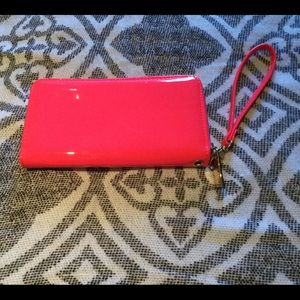 Handbags - Hot pink wristlet wallet